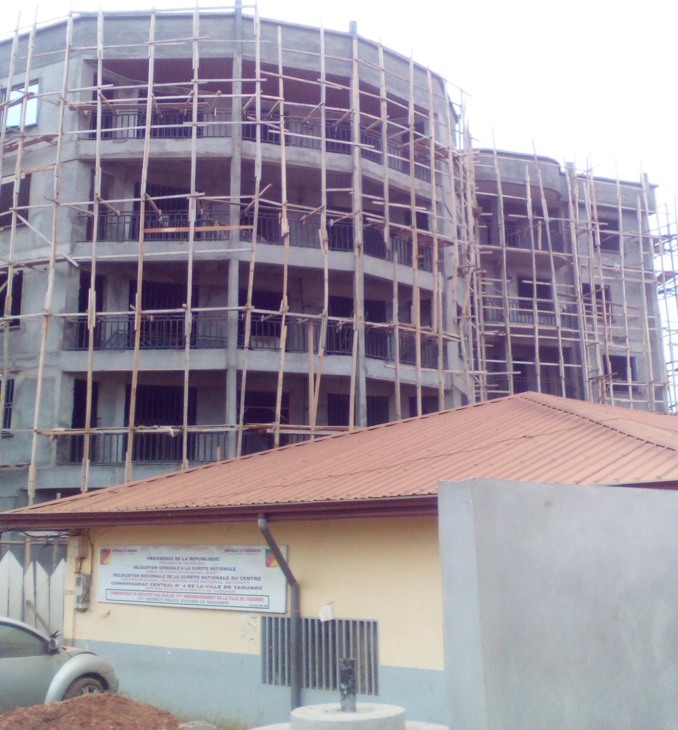 Hôtel de Police d'ODZA-Yaoundé 83%